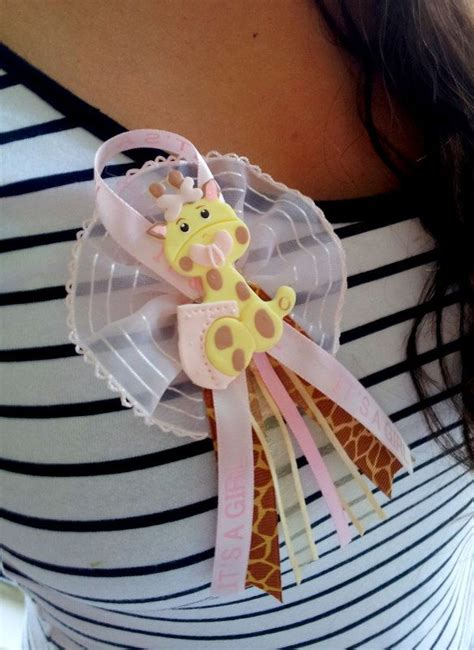 Baby Shower Pins Corsages by 12 Baby Shower Pins Giraffe Baby Shower Favor Baby