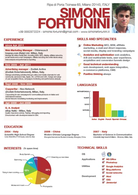 Resume About Me Creative why your awesome creative resume isn t working gayle