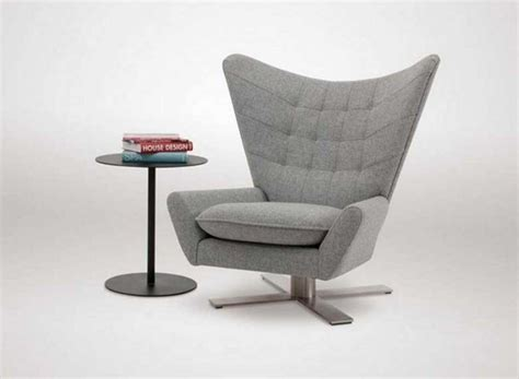 Living Room Swivel Chairs With Modern Design In Grey Color Modern Living Room Chairs