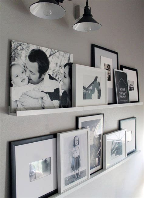 ikea bedroom displays best 25 gallery wall shelves ideas on pinterest hallway