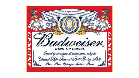 printable budweiser label tin signs budweiser label passione per i coltelli