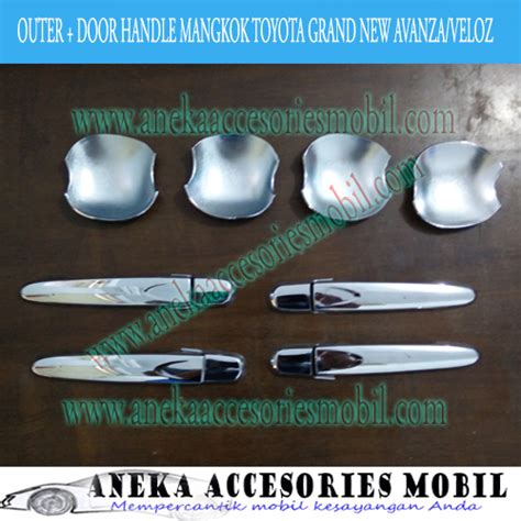 Jsl Outer Handle Mangkok All New Avanza Model Sporty Merk Jsl outer dan door handle model mangkok toyota grand new