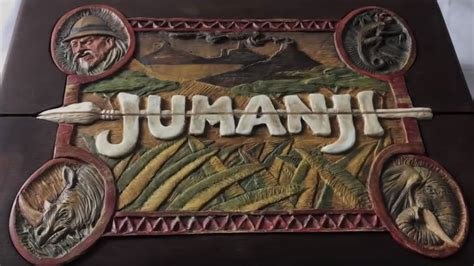 jumanji movie riddles custom jumanji game board looks exactly like the film