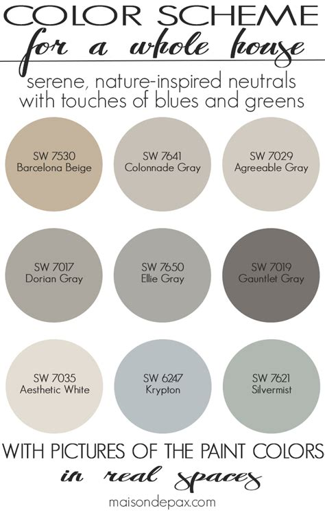 colors that work with gray paint color home tour nature inspired neutrals nature inspired spaces and house