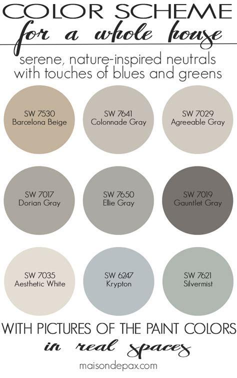 Paint Color Home Tour: Nature Inspired Neutrals   Maison