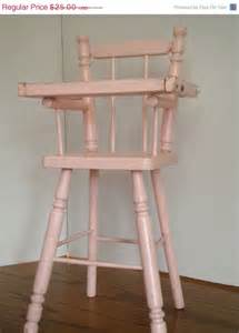 used baby high chairs for sale on sale baby doll high chair pink with serving tray vintage