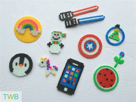 what to do with perler bead creations 5 and creative perler bead crafts the write balance