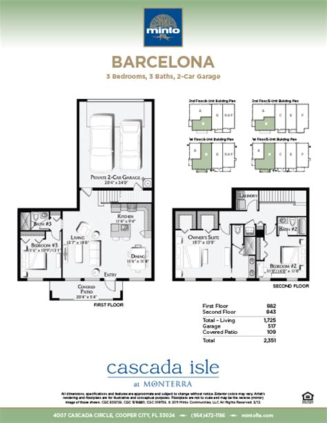 monterra floor plans cascada isle at monterra barcelona model copper city homes minto