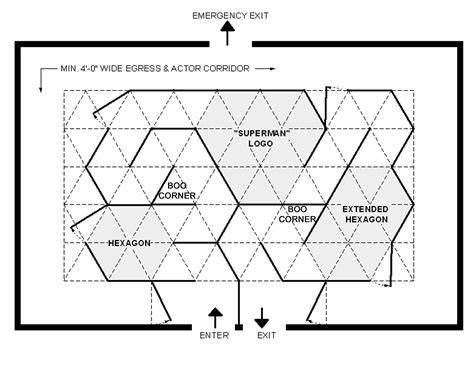 Floor Plan With Perspective House the triangular grid system how to part 2