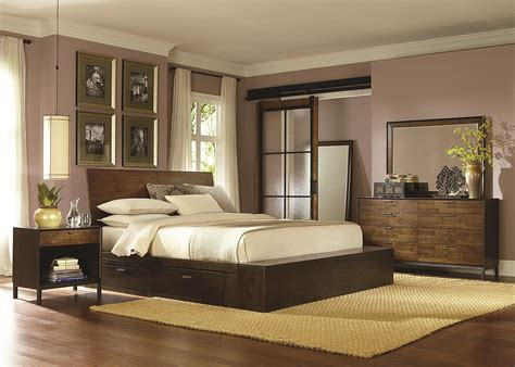king bed with storage drawers kateri complete platform king bed with two storage drawers by legacy classic wolf