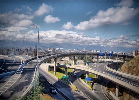 imagenes autopistas urbanas chile posee las mejores autopistas de sudamerica info
