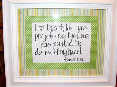 Bible Verses Baby Shower by Handwritten Bible Verse I Made For A Dear Friend For A