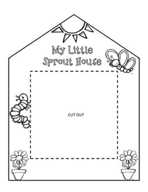 printable greenhouse my little sprout house printable classroom science
