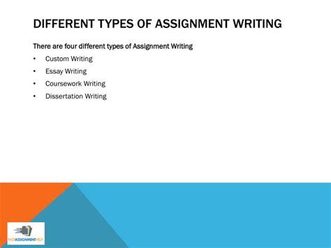 What Are The Different Types Of Essay Writing by Ppt What Is Assignment Writing From Professional Assignment Writers Powerpoint