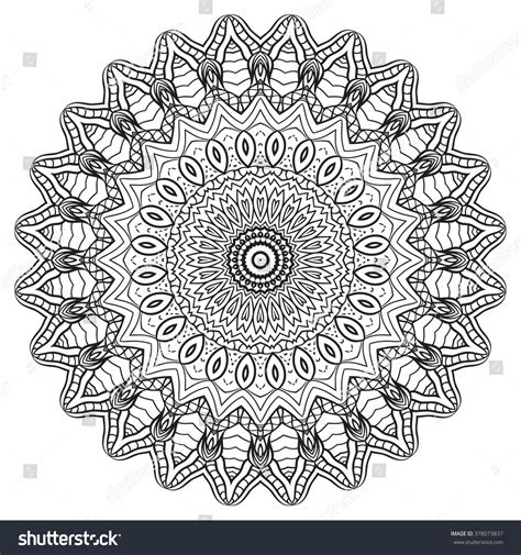 mandala coloring pages vector coloring page mandala vector stock vector
