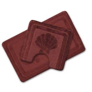 burgundy bath mat luxury 2 non slip bath mat pedestal mat burgundy