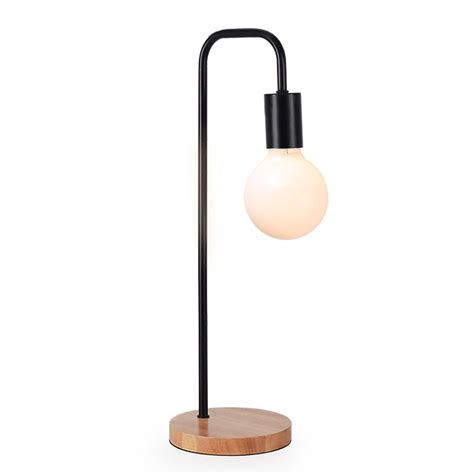 Desk Lighting Fixtures Modern Table L Simple Desk L E27 Iron Wood Table Lights For Bedroom Living Room Children