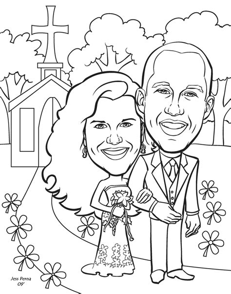 coloring pages for wedding anniversary wedding anniversary coloring pages coloring home