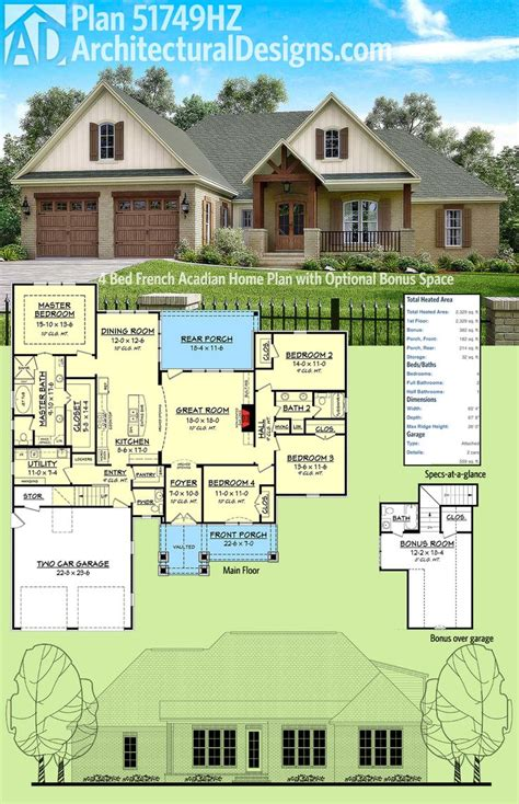 653382 simple acadian style house plans floor plans home plans plan it at houseplanit com 118 best images about acadian style house plans on