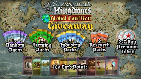 Stronghold Kingdoms Giveaway - stronghold kingdoms new players exclusive giveaway