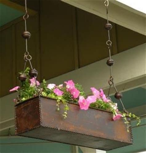 Hanging Trough Planters by Best 25 Flower Boxes Ideas On Window Boxes