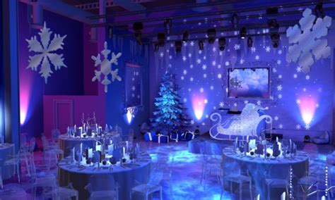 party themes adults winter projection and digital media can definitely transform any