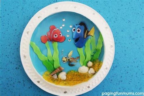 Piring Kertas Silver Emas Paper Plate Piring Kue yuk buat pajangan aquarium finding dory tutorial