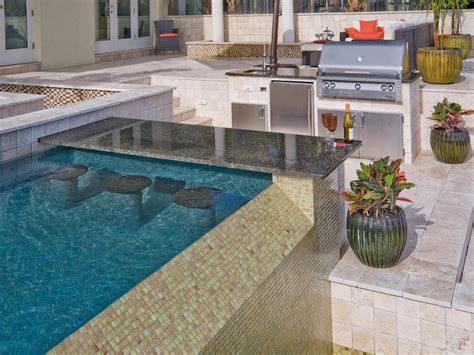 Outdoor Bar Countertops by 13 Outdoor Kitchen Countertop Options Hgtv