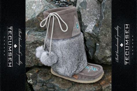 Handmade Mukluks Canada - original charcoal mukluks mukluk boot fur mukluks