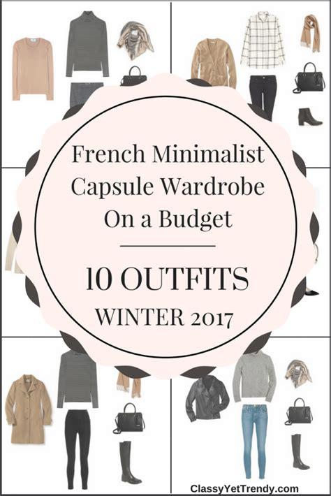 Wardrobe On A Budget by Minimalist Capsule Wardrobe On A Budget 10 Winter