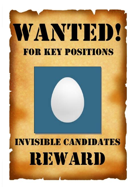 resume as wanted poster by tom prager via behance wanted poster invisible candidates make hr happen by tom