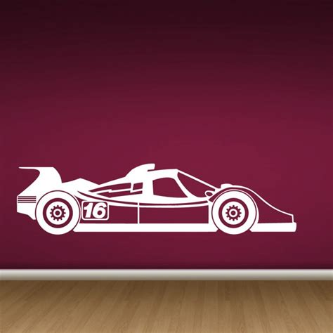 racing car wall stickers wall decals race car by artollo