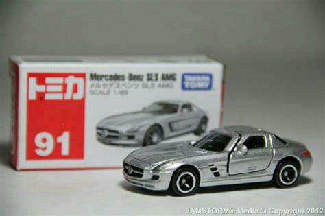 Mercedes Sls Amg No 91 Tomica tomica 91 mercedes sls amg car die cast and