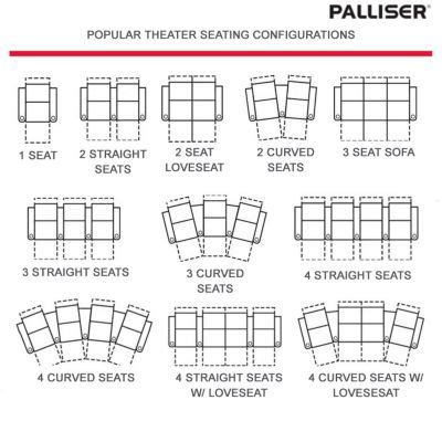 Kitchen Collection Coupon Codes palliser rhumba hts home theater seating collection