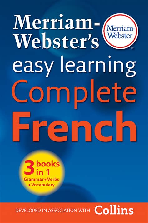 easy learning french complete 000814172x shop merriam webster