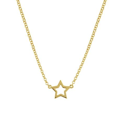 cadenas de oro tous cadena con colgante estrella en plata oro de aristocrazy