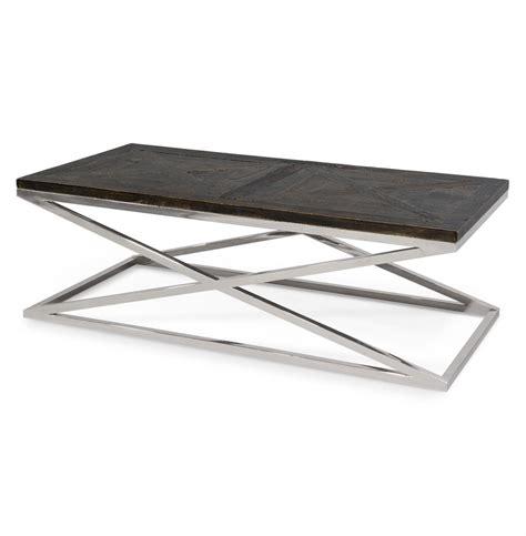 palecek wood coffee table palecek caracas industrial loft reclaimed wood coffee