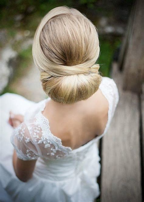 wedding hair bun updos gorgeous wedding updos for every modwedding