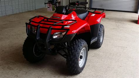 honda recon 250 review 2011 honda trx250te fourtrax recon es go4carz