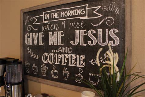 cute simple coffee station joyfully prudent