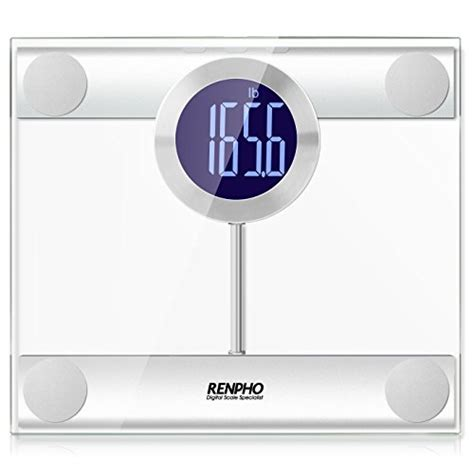 led bathroom scales renpho digital bathroom scale with extra wide platform