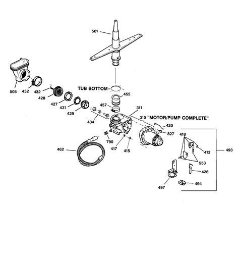 hotpoint dishwasher parts diagram hotpoint dishwasher parts model hda2000z07wh sears