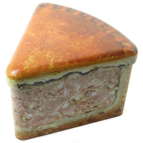pork pie tin pork pie slice tin novelty kitchen storage gift melton
