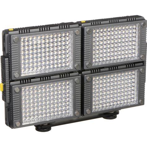 vidpro professional led light vidpro 4 interlocking professional photo z 96k4 b h