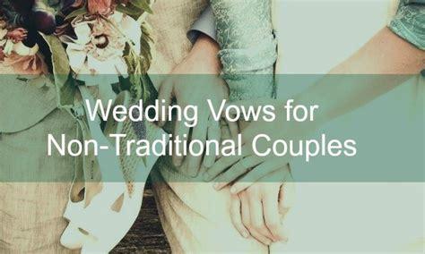 60 non traditional wedding vows