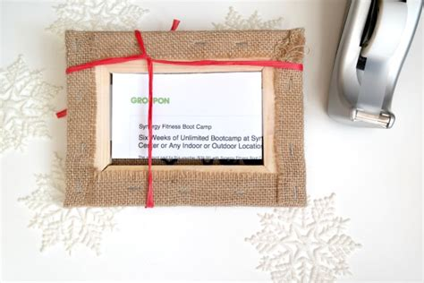How Do Groupon Gift Cards Work - creative ways to give groupons c r a f t