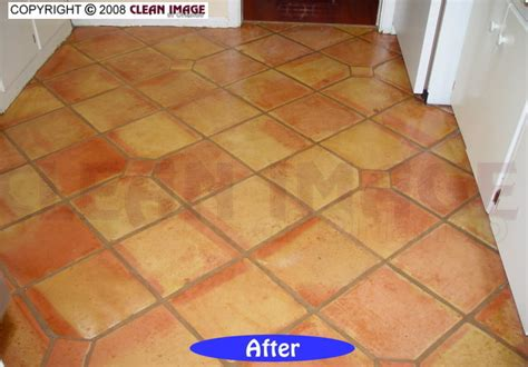 mexican tile cleaning floor refinishing