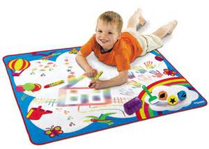 tomy rainbow aquadoodle painting drawing mat baby
