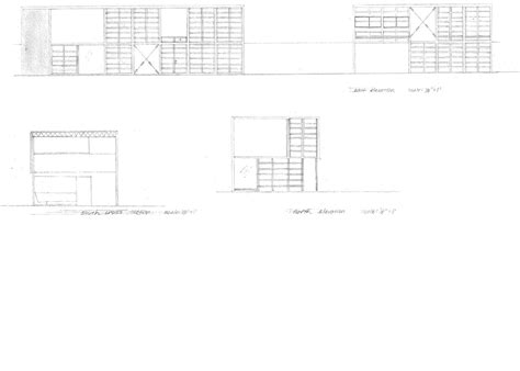 eames house section eames house elevations www pixshark com images