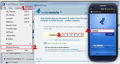 vuze for android android remote guide vuzewiki